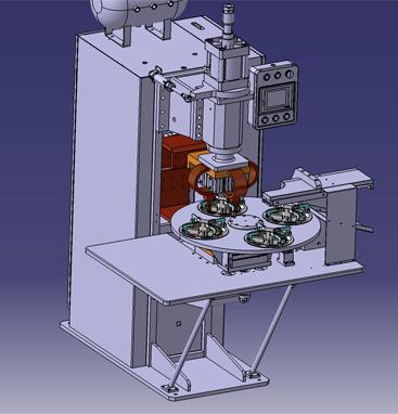 中频自动点焊机